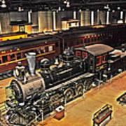Strasburg Railroad Museum Art Print