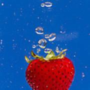 Strawberry Soda Dunk 6 Art Print
