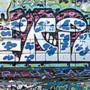 Street Graffiti - Tubs II Art Print