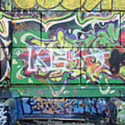Street Graffiti - Tubs IIi Art Print