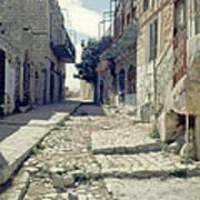 Street In Safed Art Print