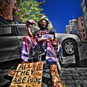 Street Life 4 Art Print
