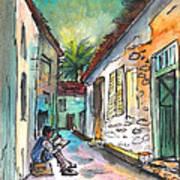 Street Life In Nicosia Art Print