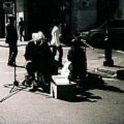 Street Musicians- Grandpa Elliot Art Print