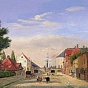 Street Scene Print by Danish School