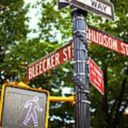 Street Signs In Nyc Art Print