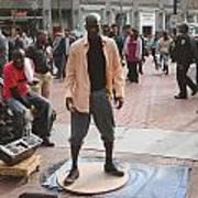 Street Tap Dancers No. One Art Print