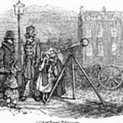 Street Telescope Art Print