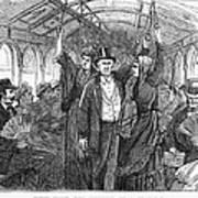 Streetcar, 1876 Art Print by Granger