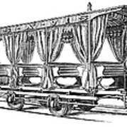 Streetcar, C1880 Art Print