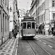 Streetcar Estrela Art Print