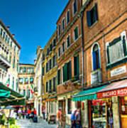 Streets Of Venice Art Print