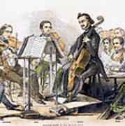 String Quartet, 1846 Art Print