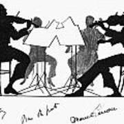String Quartet, C1935 Art Print