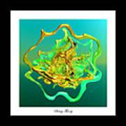String Theory D Art Print