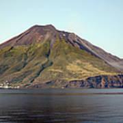 Stromboli Volcano, Aeolian Islands Art Print by Richard Roscoe