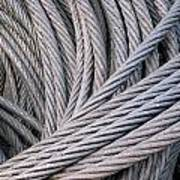 Strong Wire Rope Art Print