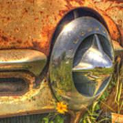 Studebaker Reflections Art Print