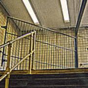 Subway Exit In New York Art Print