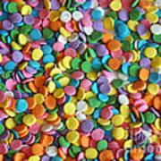 Sugar Confetti Art Print