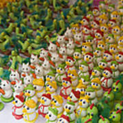 Sugar Figurines For Sale At The Day Art Print