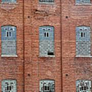 Sugar Mill Broken Windows Art Print