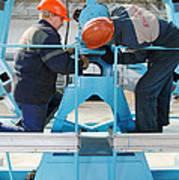 Sukhoi Superjet 100 Assembly Art Print