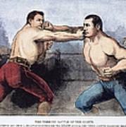 Sullivan & Kilrain Fight Art Print