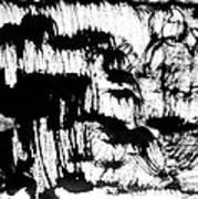 Sumi-e 120726-3 Art Print