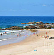 Summer At Port Macquarie Art Print
