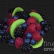 Summer Fruit Medley Art Print