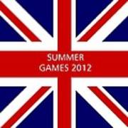 Summer Olympics In U.k. Art Print