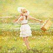 Summer Picnic  Art Print by Cindy Singleton