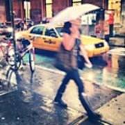 Summer Rain Art Print