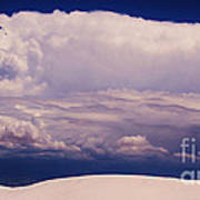 Summer Storms Over The Mountains 2 Art Print