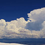 Summer Storms Over The Mountains 4 Art Print