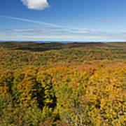 Summit Peak Autumn 11 Art Print