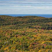 Summit Peak Autumn 13 Art Print