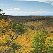 Summit Peak Autumn 16 Art Print