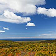Summit Peak Autumn 8 Art Print