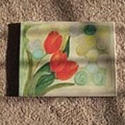 Sun And Tulips Art Print