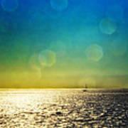 Sun Flare Sail Art Print