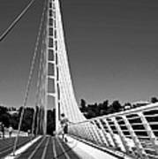 Sundial Bridge Two Art Print