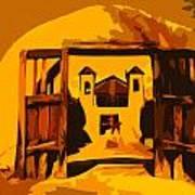 Sundown Chimayo Art Print