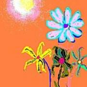Sunflowered 3 Art Print