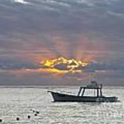 Sunrise - Puerto Morelos Art Print