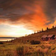 Sunrise At Bear Lake Art Print