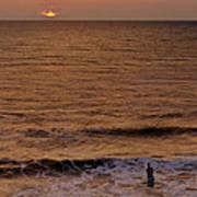 Sunrise At Jacksonville Art Print by Joe Bonita