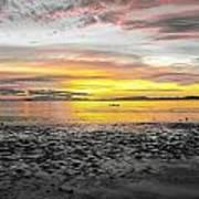 Sunrise At Sea 2 Art Print