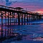 Sunrise At The Pier 2 Art Print
